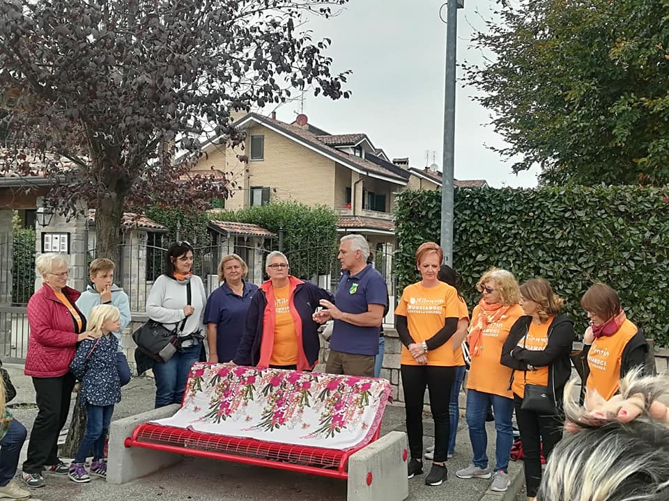 Panchine Rosse Settimo Torinese