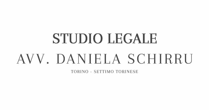 Avvocato Daniela Schirru Torino